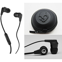SkullCandy Earphones With Mic ( Best Audio Quality In All Phones ) - 5437412