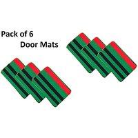 Simply Home's Set Of 6 Door Mats