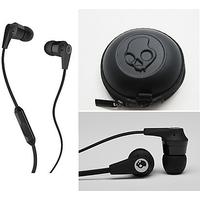 SkullCandy Earphones With Mic ( Best Audio Quality In All Phones ) - 5440728
