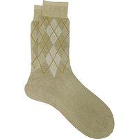 Mercerized Cotton Socks OSOX-223-BEIGE