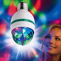Diwali Disco Light Bulb LED Light With Multi Lights