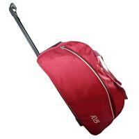 "Rockbottom Duffle Bag With Trolley (20"") - Maroon"