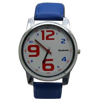 Reebok Round Dial Blue Strap Wrist Watch