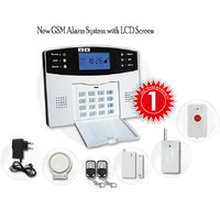Wireless GSM Home/Office Security Kit - 99 Zones Anti-Theft Burglar Alarm System
