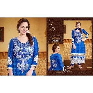 khushali glaze cotton karachi work salwar suit isha glory 07