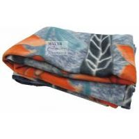 Multi Colored Printed Polar Fleece Blanket