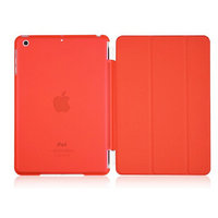 Callmate Magnetic Smart Cover With Transparent Back Cover For IPad Air Free SG - 5457354