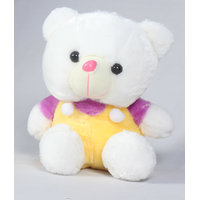 Teddy Bear White And Yellow