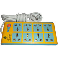 HUAISHENG POWER STRIP EXTENSION 4.5 METER CORD BOARD MULTIPLUG 8 SOCKETS