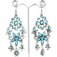 Blue Stone Bohemian Earrings