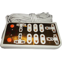 HOT SALE LATEST DESIGN POWER STRIP EXTENSION 4.5 METER CORD MULTIPLUG 8 SOCKETS