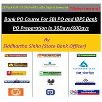 Bank PO Course - 18 Piece Of HD DVD
