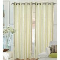 Fantasy Home Decor Curtain - Creamy Crush - Set Of 2