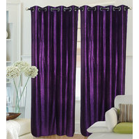 Fantasy Home Decor Curtain - Purple Crush - Set Of 2