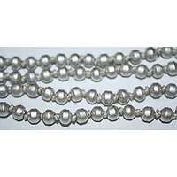 Parad Mala / Parad Rosary / Parad Gutika / Mercury Beads Mala - 6mm (109 Beads)