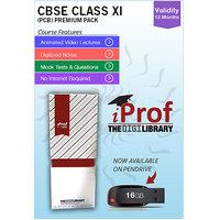 IProf's  CBSE Class 11 PCB Premium Pack On Pen-Drive [CLONE] - 5482142