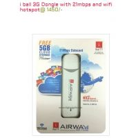 I Ball 3G Dongle With 21mbps And Wifi [CLONE]