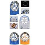 Multi Emergency Fan Rechargeable With 32 LED Light & Fan W/Dual Speed
