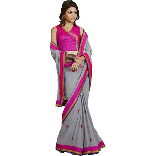 Ethnicbasket Party wear Georgette Saree.