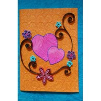 Handmade Quilled Greeting Cards(Set Of 2)