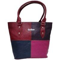 8583ddfa2aeb Atorakushon Multipurpose Carrying Case Women s Elegance Style Handbag  Clutches Ladies Purse Travelling Tote Bag (Maroon)