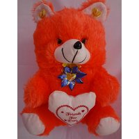 AGS 80- Teddy Bear Big Size, Kid, Valentine, Love, Diwali Gift,color Orange