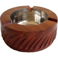 Ashtray Cutter Wooden - The Woods Hut