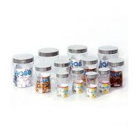Steelo 12 Pcs Pet Container Set- 250 X 4, 550ml X 4, 1200ml X 4 (Sobo)