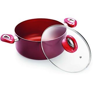 Eris Nonstick Cookware Deep Fry Pan / Kadhai Copper 30cm - EDF673