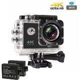 CP Bi  gbasket 4K WIFI Sports Action Camera Ultra HD Waterproof DV Camcorder 12MP 170 Degree Wide Angle