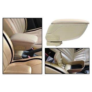 Car Armrest Console Biege Universal Size