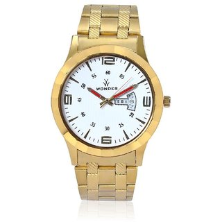Wonder Analog Men's Watch Double Dial And Double Movement-WDD-011W