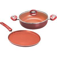 Eris Nonstick Cookware 2pcs Combo Pack Copper - ECS682