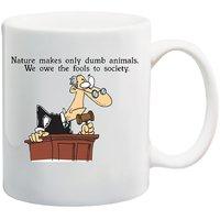 MeSleep Nature Funny Quote Mug