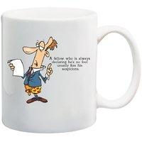 MeSleep Fellow Funny Quote Mug
