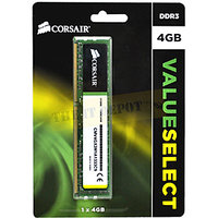 Corsair Value Select 4GB DDR3 1333MHz PC Memory With 3 Year Warranty