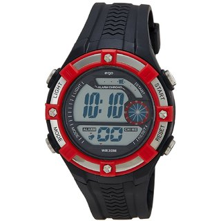 Maxima Digital Black Dial Men's Watch - E-31730PPDN With Free Shipping