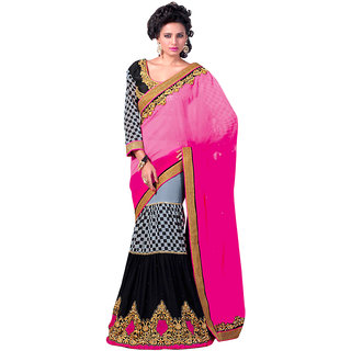 Ethnicbasket party wear  gorgeous lengha saree.EBS101031506