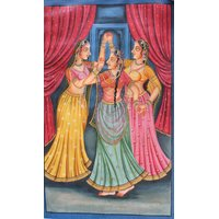 Dancing Ladies Beautiful Canvas Painting