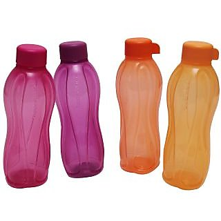 Tupperware Water Bottle – 500ml (4 bottles)