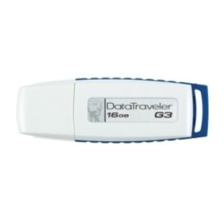 Kingston DTIG3 16GB Pen Drive (White & Dark Blue)