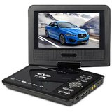 3D Portable DVD Player With 7.8 Inch LED Screen HD With SD Card And USB Reader