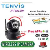 Tenvis Pan tilt JPT3815W IP wifi Camera Wireless Night Vision Security Camera