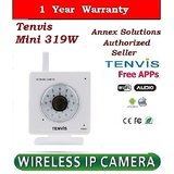 Wireless Ip Camera Tenvis Mini319W 21 led CCTV WEBCAM IR MOTION DETECT
