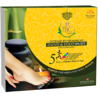 INTENSE REFRESHMENT MINT & PINEAPPLE HAND & FOOT SPA KIT 450GM