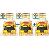 Pack Of 3 SevenSeaS Original Cod Liver Oil Cap. (100 Capsules)