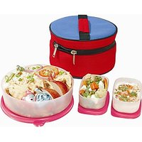 Signoraware Classic Lunch Box Big With Insulated Bag