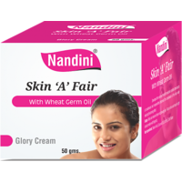 Nandini SKIN A FAIR With Wheat Germ Oil Glory Cream 50gm Pack Of 3