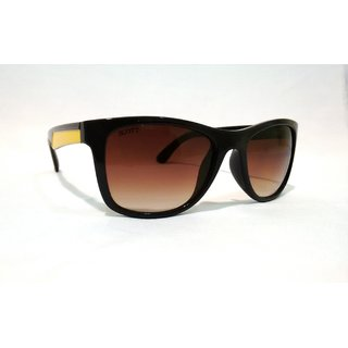 SCOTT SC 1804 C3 Brown Yellow Sides Wayfarer Sunglass