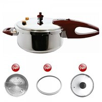 Wonderchef Pressure Cooker Induction Base 3 Litre